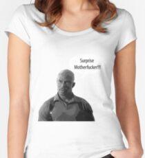 Surprise Motherfucker Women's Fitted Scoop T-Shirt