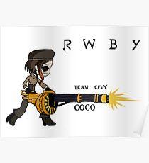 COCO Form RWBY Poster