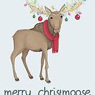 Merry Christmoose by Katie Corrigan