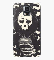 First Coffee in the Mourning Case/Skin for Samsung Galaxy