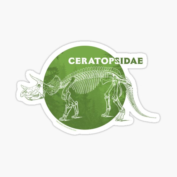Ceratopsidae Sticker