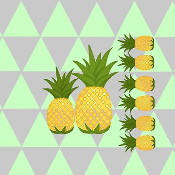 Pineapples  (Because my daughter loves them at the moment) by MMEIRI1