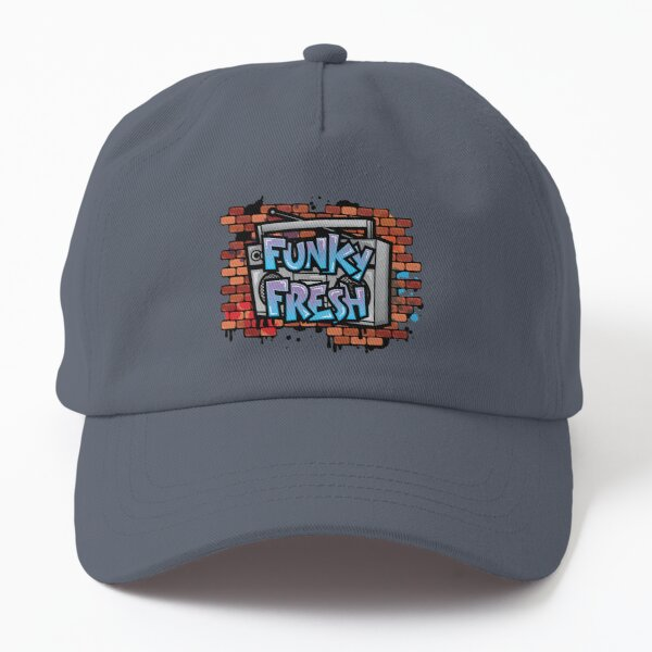 Stay Funky Fresh Retro Vintage Graffiti Dad Hat