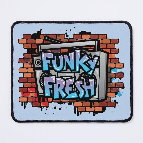 Stay Funky Fresh Retro Vintage Graffiti Mouse Pad