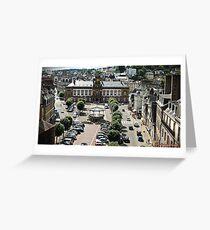 The french Town of Morlaix Carte de vœux