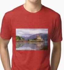 Eilean Donan Castle , Scotland Tri-blend T-Shirt