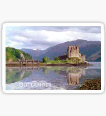 Eilean Donan Castle , Scotland Sticker