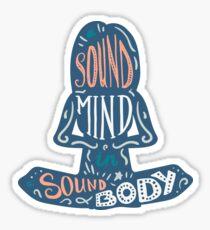 Inspirational quote - Yoga Sticker