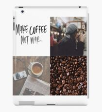 Lauren Graham - Make Coffee Not War iPad Case/Skin