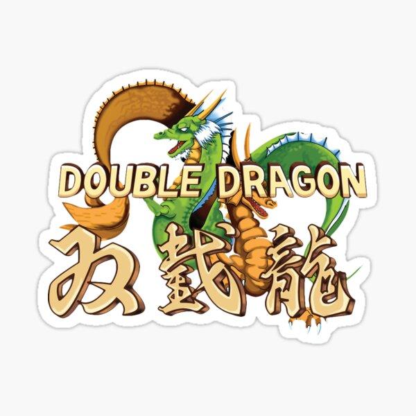 Double Dragon Sticker