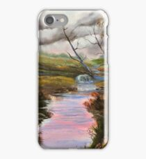 Sycamore by the barn iPhone Case/Skin