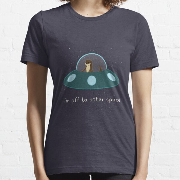 Otter Space Essential T-Shirt
