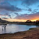 Rawnsley Park Sunrise by Ray Warren