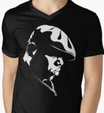 Biggie Stencil Men's V-Neck T-Shirt