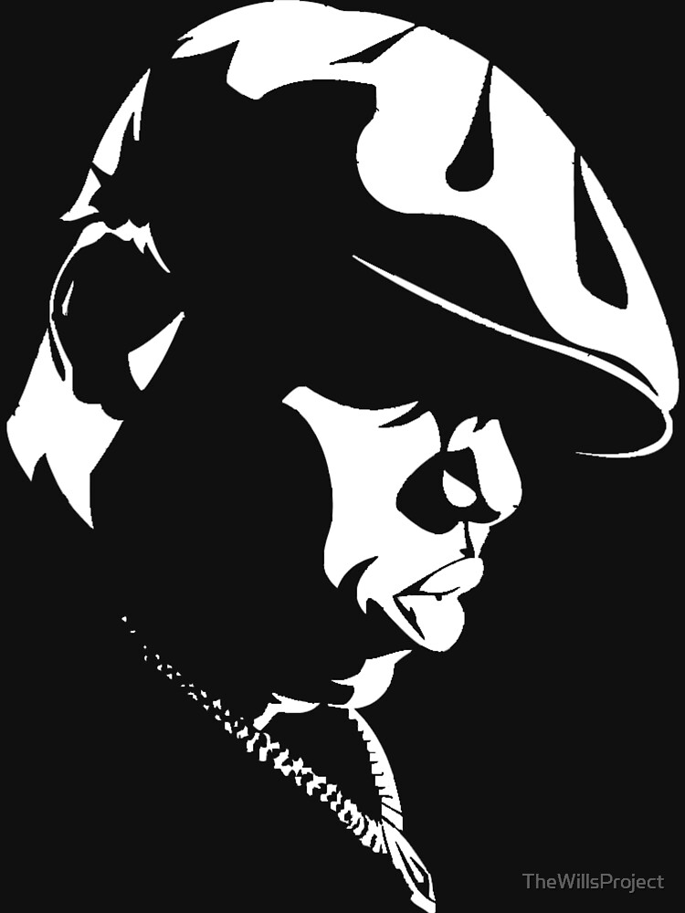 Biggie Stencil de TheWillsProject