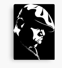 Biggie Stencil Canvas Print
