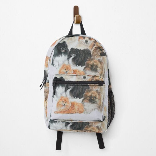 Pomeranian Montage Backpack