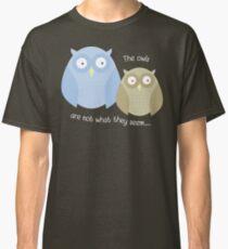 Twin Peaks Owls T-shirt Classic T-Shirt
