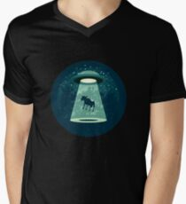Beware UFO Men's V-Neck T-Shirt