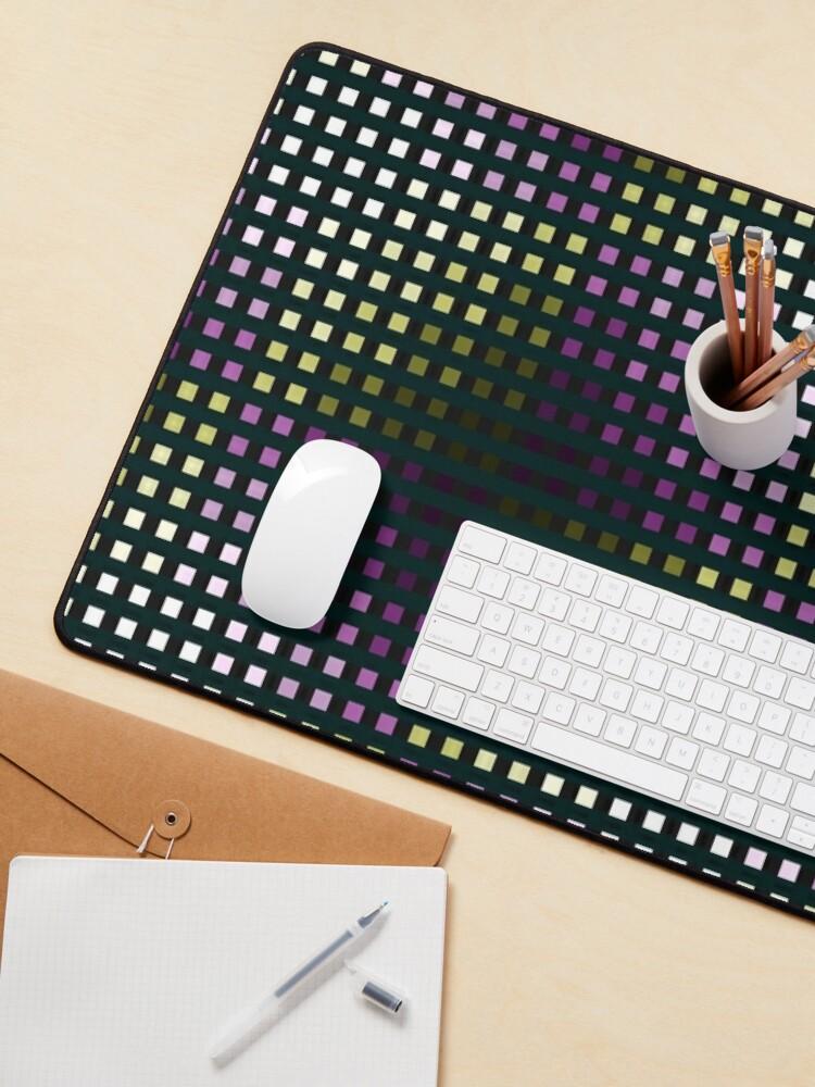 Alternate view of Bingi Bangi color grid  Mouse Pad