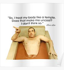 Louis Litt Suits funny Quote Poster