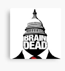Braindead Canvas Print