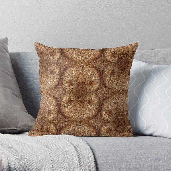 Ridgeback Twirl Throw Pillow