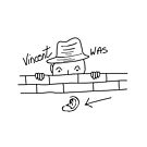 Vincent was ear! by saleire