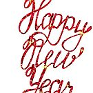 Happy New Year lettering by Marishkayu
