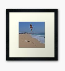 Controversial Appearance Framed Print