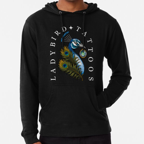 Colour peacock  Lightweight Hoodie
