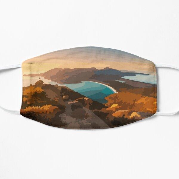 Wineglass Bay Digital Painting Flat Mask