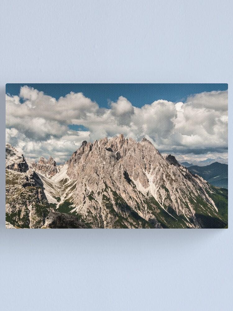 Alternate view of Rocca dei Baranci Canvas Print