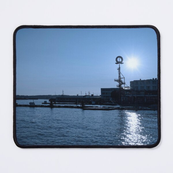 0052 Lonsdale Quay North Vancouver Canada Hotel Living Room Art Mouse Pad