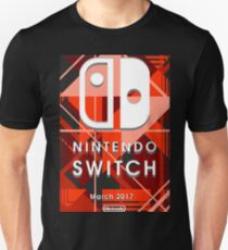 Nintendo Switch Abstract Unisex T-Shirt