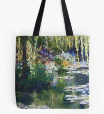 Willow & lilies, Giverny Tote Bag