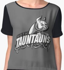 HOTH TAUNTAUNS FOOTBALL TEAM Women's Chiffon Top