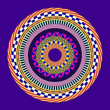 Funky Mandala by dukepope