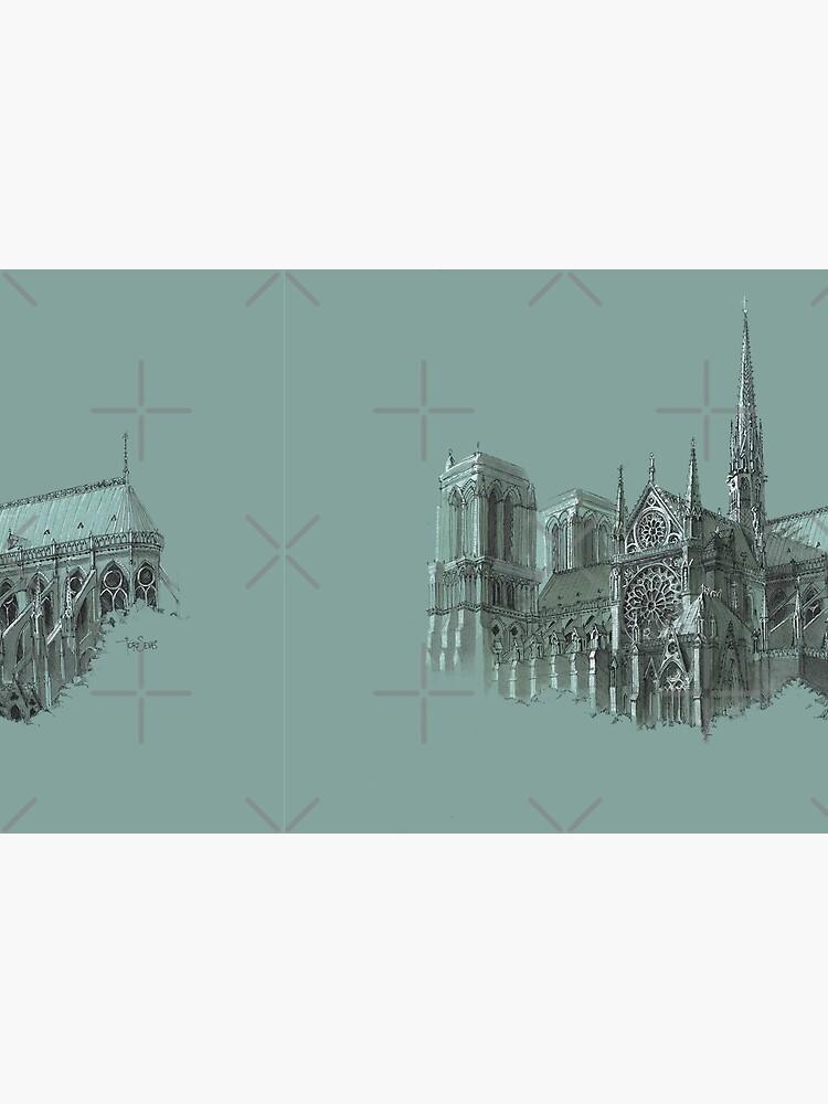 Notre-Dame de Paris by torysevas