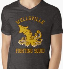 Wellsville Fighting Squid (Pete and Pete/Notre Dame parody) T-Shirt