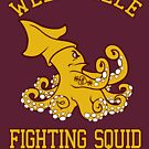 Wellsville Fighting Squid (Pete and Pete/Notre Dame parody) by PeterParkerPA