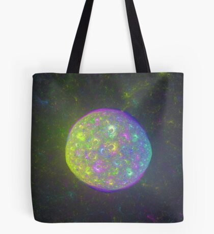 I also have another planet. #Fractal Art Tote Bag