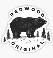 Redwood Original SOA Bear Sticker