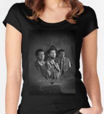 Supernatural - Castiel Women's Fitted Scoop T-Shirt