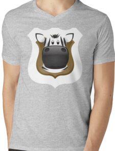 Zoo animals wildlife - Zebra Mens V-Neck T-Shirt