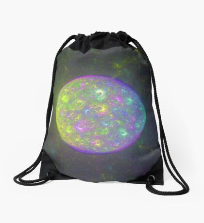 I also have another planet. #Fractal Art Drawstring Bag