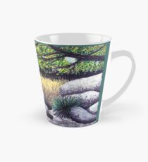 Tree and Boulders Tall Mug