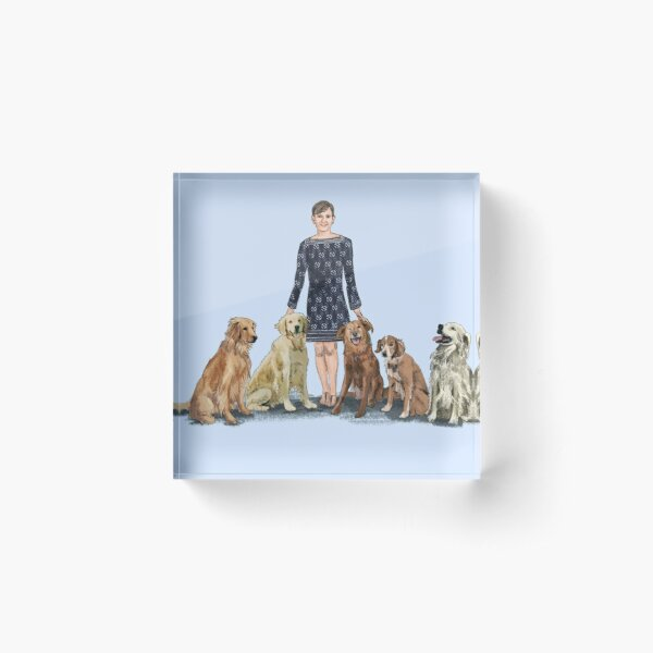 Beebe Dogs Acrylic Block