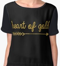 Heart of gold   quotes Chiffon Top