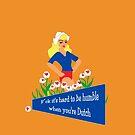 Blunt Blonde Dutch Tee by patjila